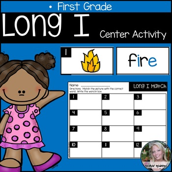 Long I Literacy Center Activity