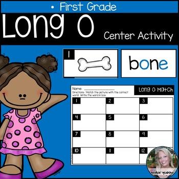 Long O Literacy Center Activity