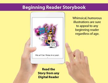 Long E Little Book: Beginning Reader Storybook