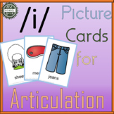 Long E Picture Cards for Articulation