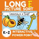 LONG E PICTURE SORT