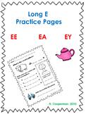Long E Practice