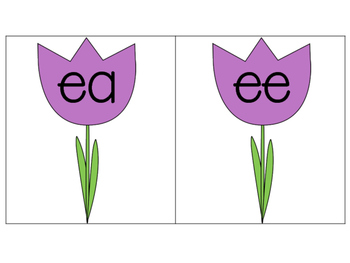 Long E Sort (EE and EA) {Spring Theme}