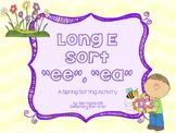 Long E Sort (EE and EA) {Spring Theme}