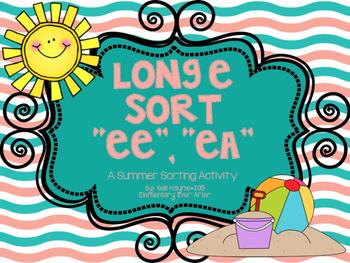Long E Sort (EE and EA) {Summer Theme}