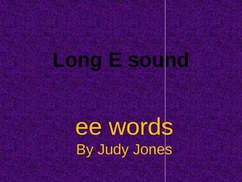 Long E Sound (ee)