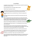 Long E Sounds Reading Passage and Worksheet