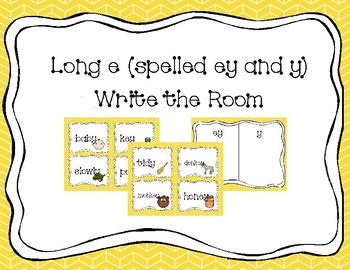 """Long E Spelled """"ey"""" and """"y"""" Write the Room"""