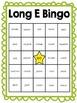 Long E Vowel Bingo Game Sets (freebie in preview!)