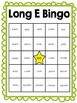 Long E Vowel Bingo Game Sets (freebie in preview!)