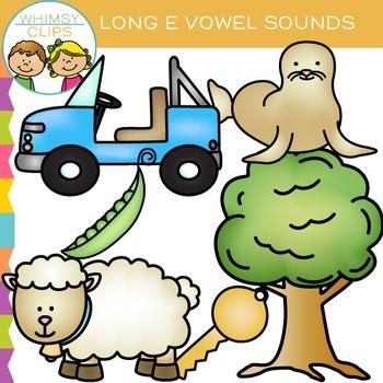 Long E Vowel Clip Art