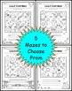 Long E Vowel Maze Practice Printables