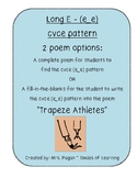 Long E Vowel Poem Using cvce Pattern e_e