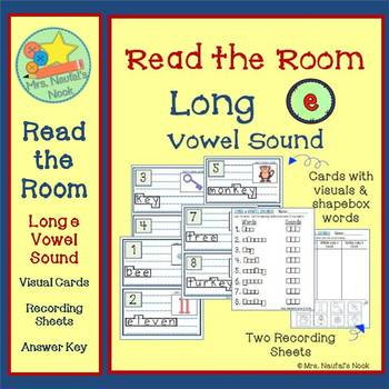 Read the Room Long Vowel E