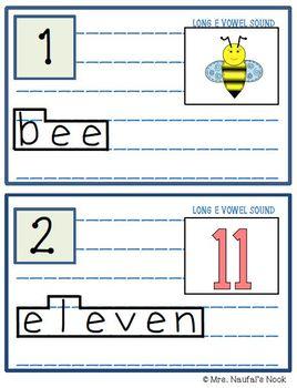 Read the Room Alphabet Long Vowel E