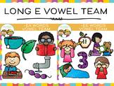 Vowel Team Long E Clip Art Bundle