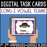 Long E Vowel Team Digital Task Cards