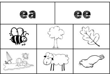 Long E Vowel Team Sort