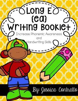 Long E Vowel Team {ea} Writing Book