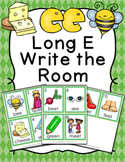 Long E Vowel Team ee Write the Room