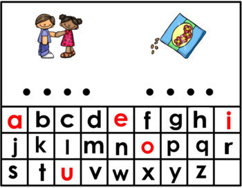 Long E Vowel Teams Digital Word Work