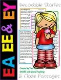 Long E Vowel Teams Second Grade Decodable Stories Level 2 Unit 11 (EE EA & EY)