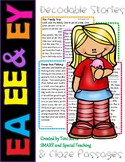 Long E Vowel Teams Second Grade Decodable Stories Level 2 Unit 11 (EE EA & EY)