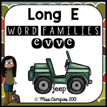 Long Vowels Long E Double O