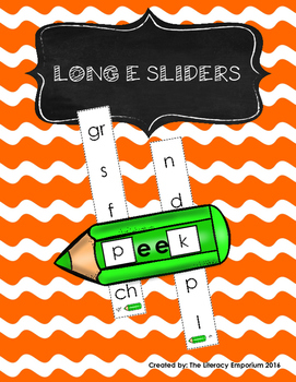 Long E Word Sliders