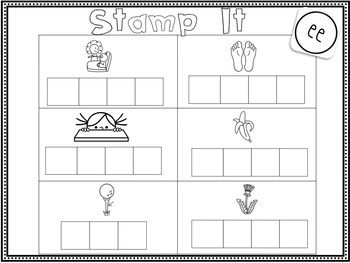 Stamp It Up! Long E Word Works
