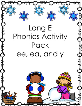 Long E Worksheet Pack (ee, ea, and y)
