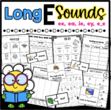 Long E Worksheets *Differentiated