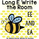 Long E Vowel Teams EE/ EA |   Game and Printables