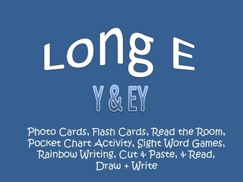 Long E as Y & EY Pack