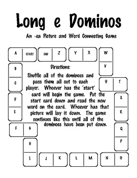 Long E (ea) Dominoes