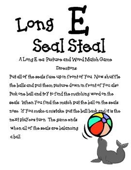 Long E (ea) Seal Steal