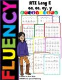 Long E (ee, ea, ey, y)  Fluency RTI