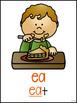 Long E {ee, ea, y, and e} Word Work
