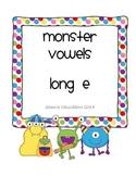 Long Ee Word Sort