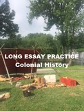 Long Essay Question APUSH on Colonial-Indian Interaction