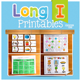 Long I Activities | Long I Worksheets