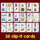 Long I Clip Cards