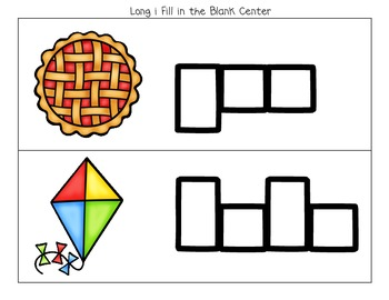 Long I Activities (Printables and Centers for K-1)