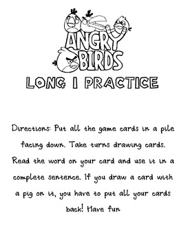 Long I Angry Birds