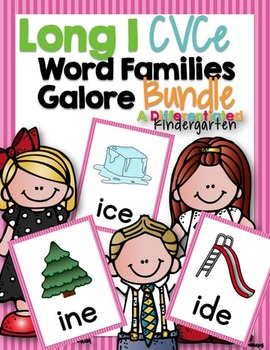 Long I CVCE Word Family Word Work Galore Bundle-Differentiated and Aligned