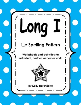 Long I CVCe Activities and Worksheets