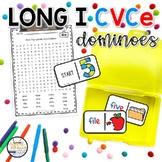 Long I CVCe Domino Phonics Activity for Literacy Centers