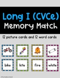 Long I CVCe Memory Match Game