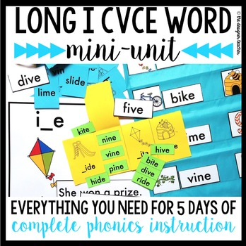 Phonics By Design Long I CVCe Word Mini-Unit