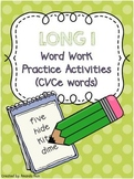 Long I (CVCe) Word Work Activities